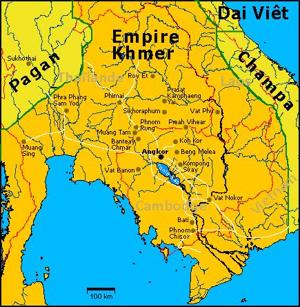 1450 km pickupem: Isaan, Mekong, pamiątki Khmerów 10