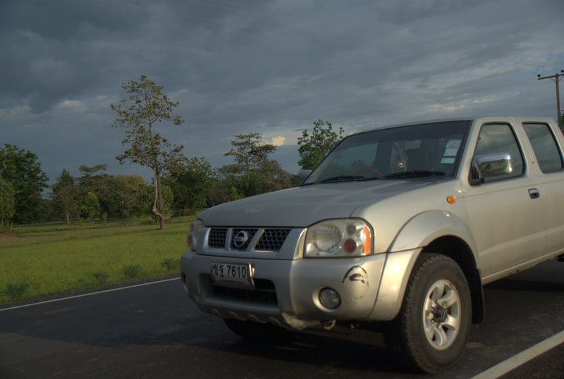 1450 km pickupem: Isaan, Mekong, pamiątki Khmerów 14