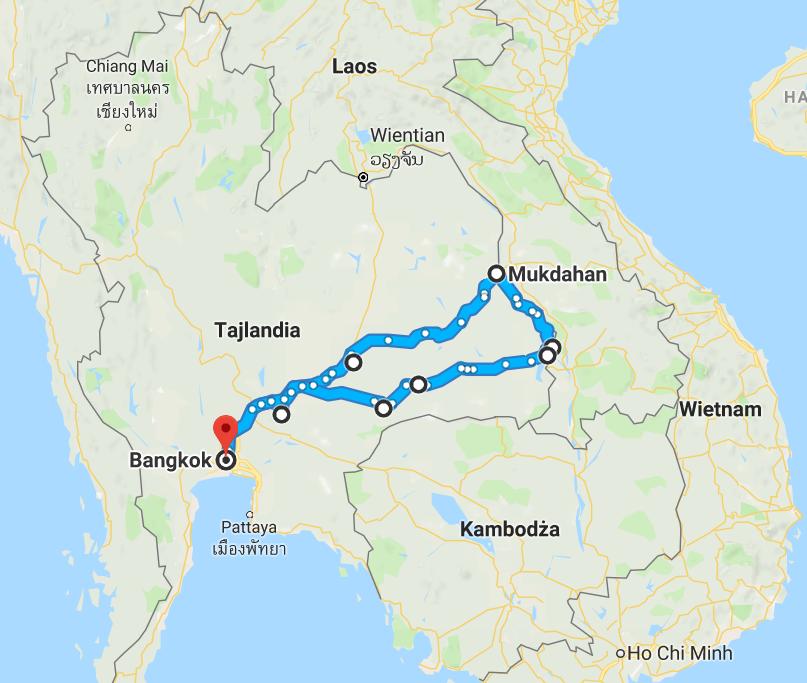 1450 km pickupem: Isaan, Mekong, pamiątki Khmerów 1