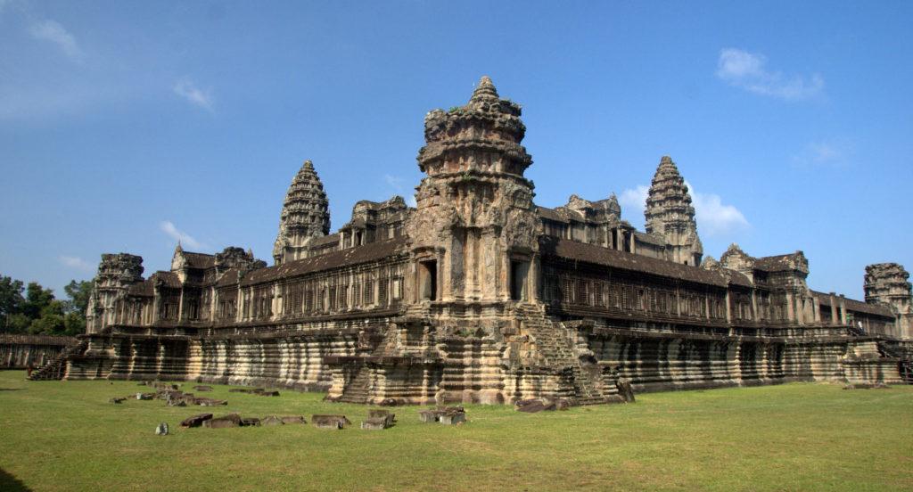 W stolicy Khmerów (Angkor Wat) 13