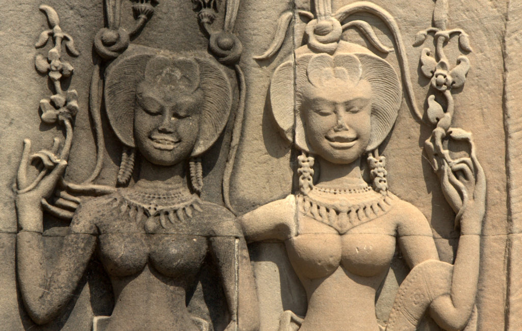 W stolicy Khmerów (Angkor Wat) 14