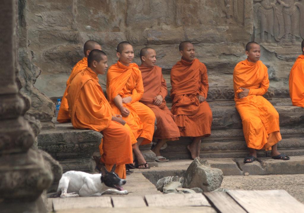 W stolicy Khmerów (Angkor Wat) 19