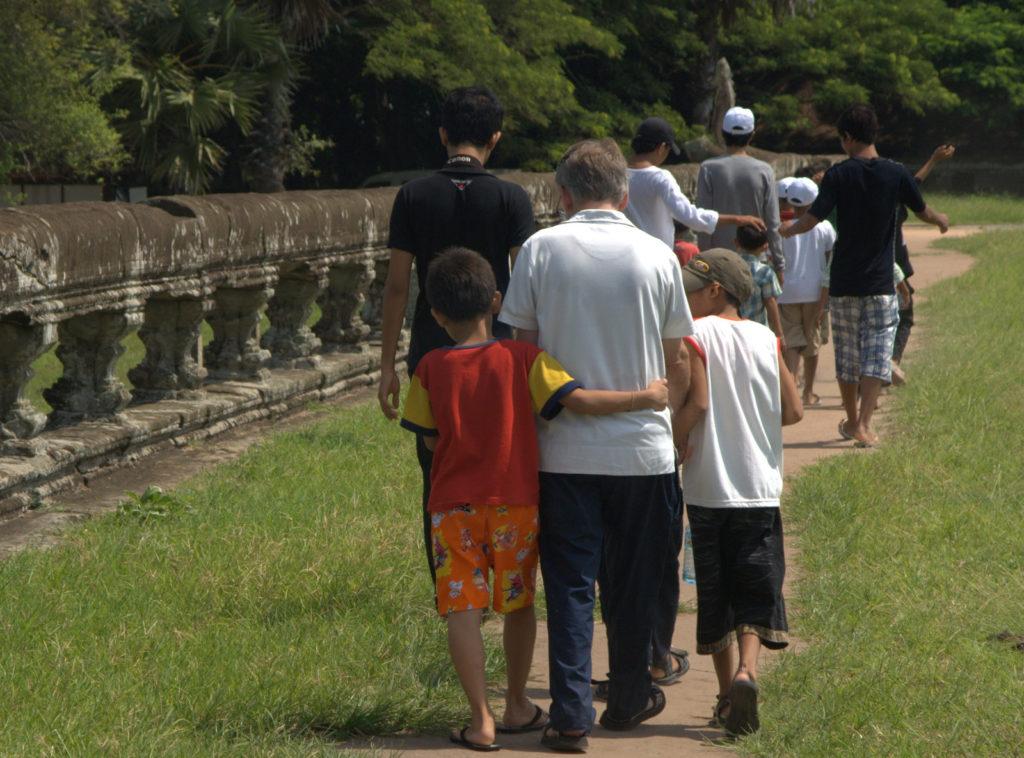 W stolicy Khmerów (Angkor Wat) 21