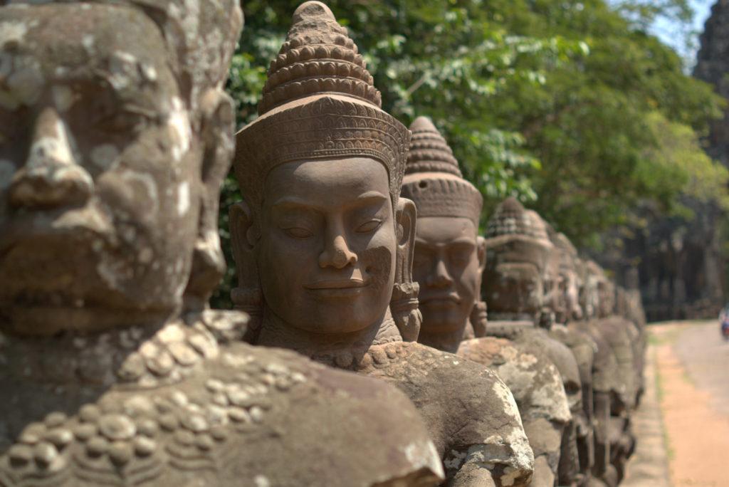 W stolicy Khmerów (Angkor Wat) 15