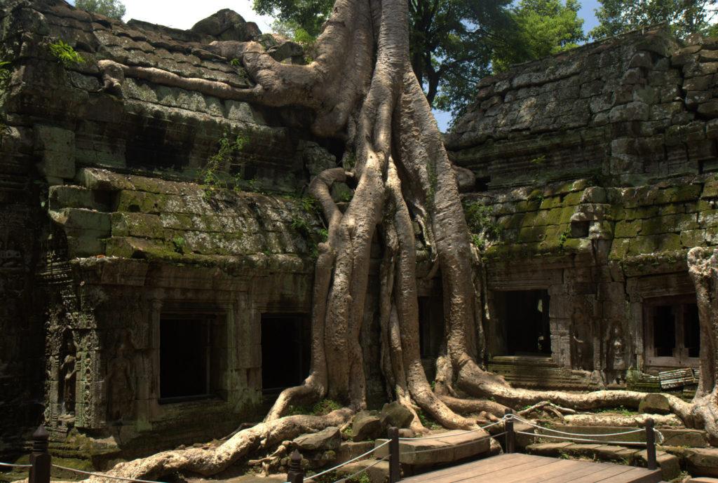 W stolicy Khmerów (Angkor Wat) 2