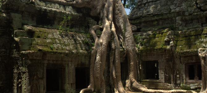 W stolicy Khmerów (Angkor Wat)