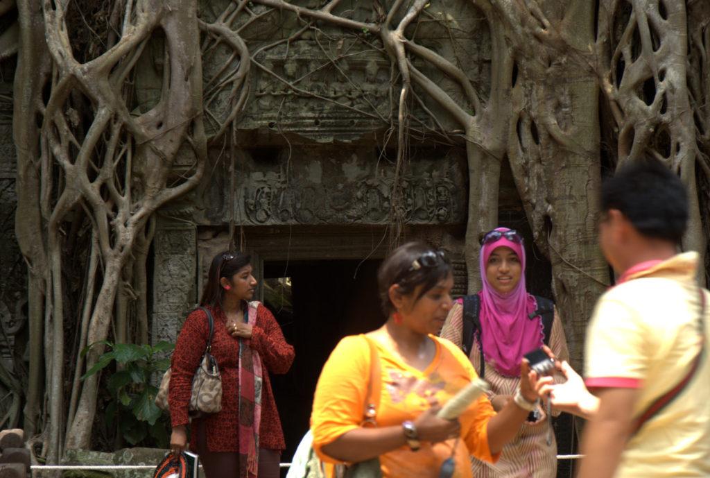 W stolicy Khmerów (Angkor Wat) 9