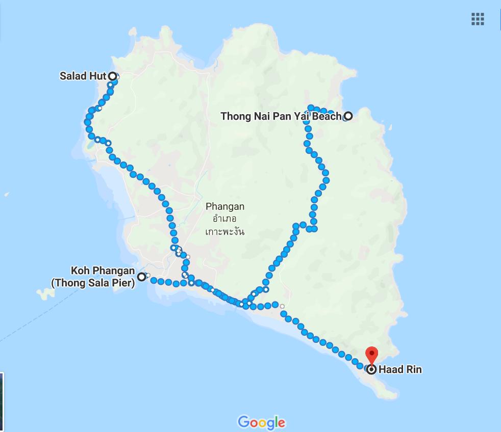 Trzy rajskie wyspy, pierwszy snorkeling i... 49