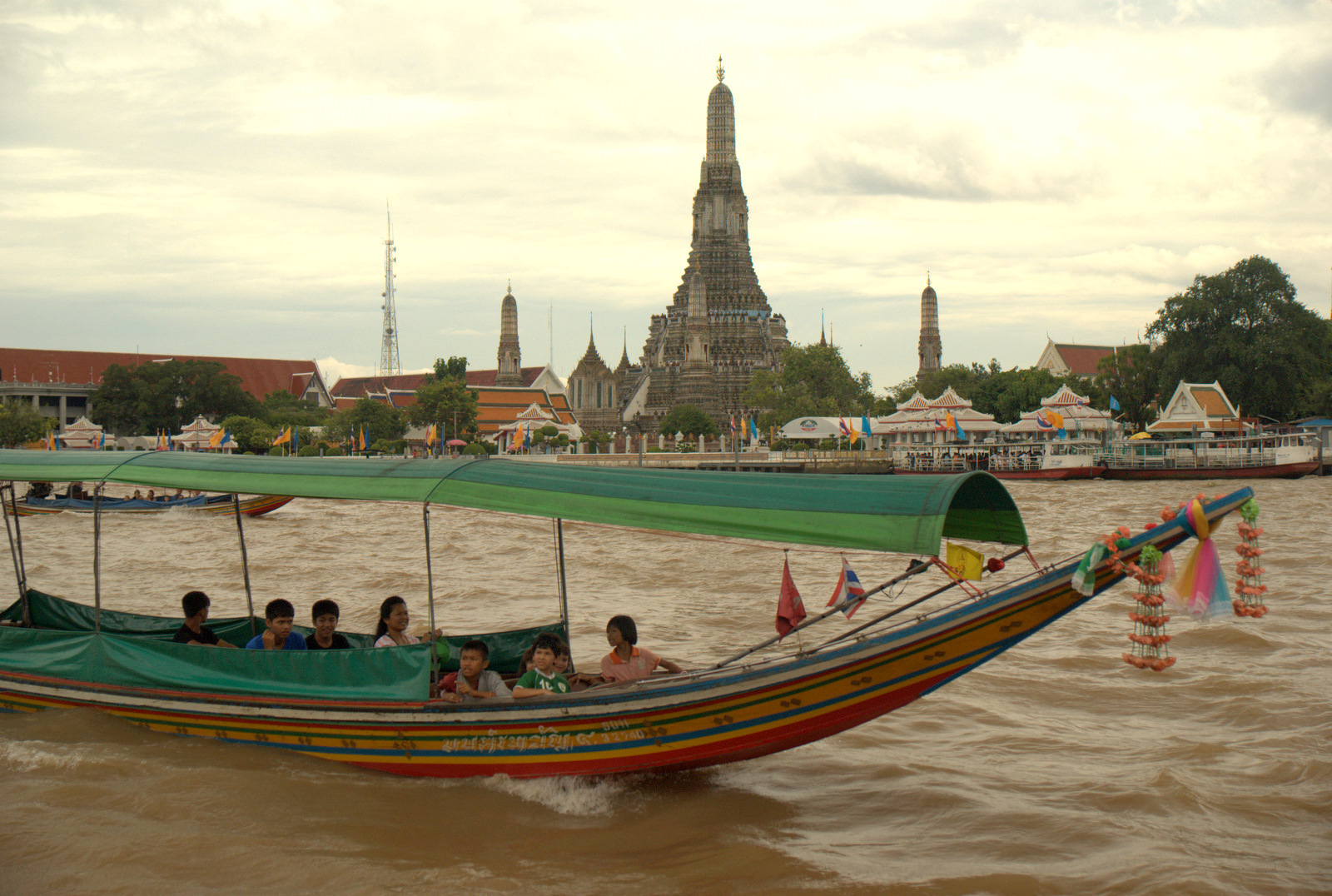 Bangkok (ostatni spacer autobusem i rzeką) 19