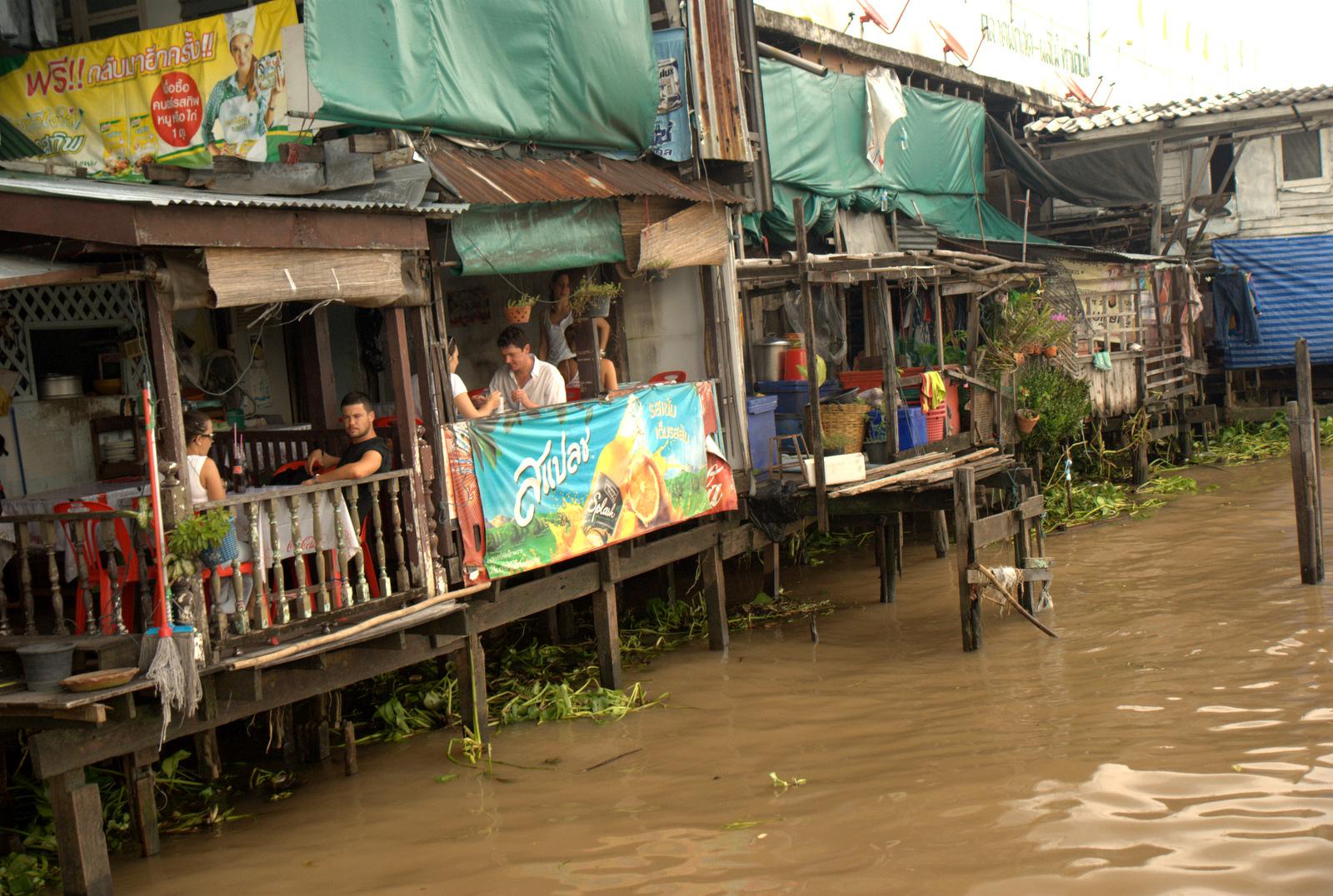 Bangkok (ostatni spacer autobusem i rzeką) 8