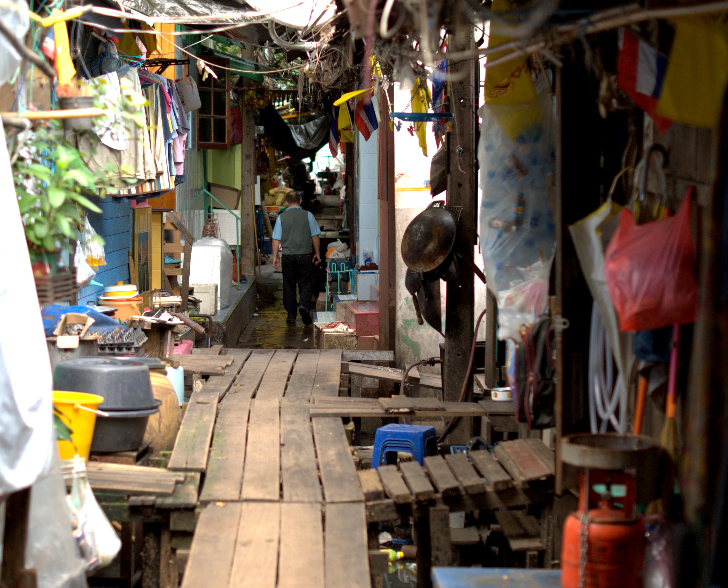 Bangkok (ostatni spacer autobusem i rzeką) 24