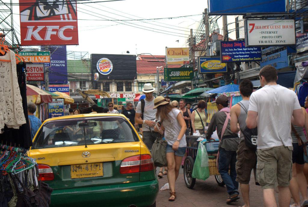 Jeśli Bangkok, to Kaosan, oczywiście 9