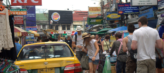 Jeśli Bangkok, to Kaosan, oczywiście