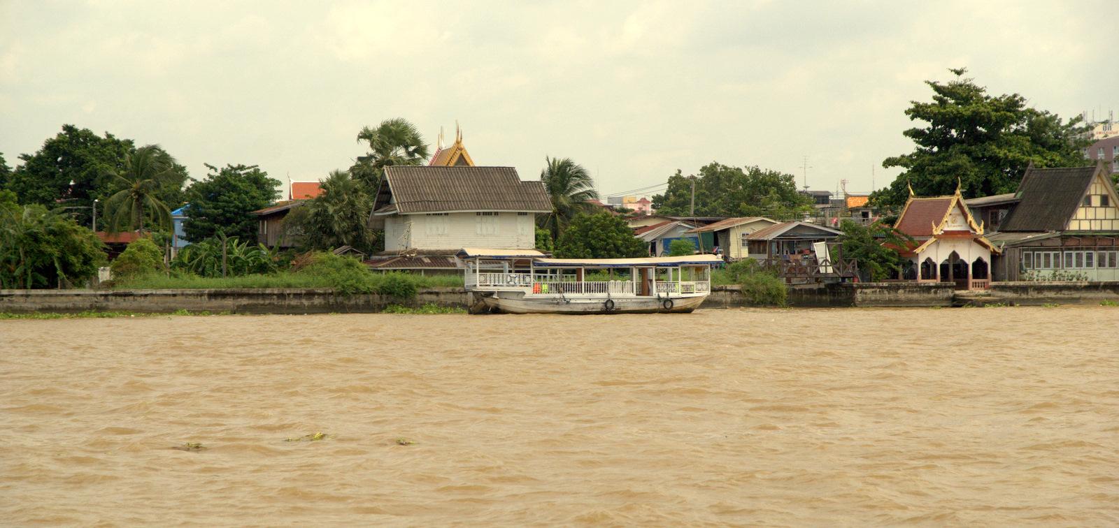 Bangkok (ostatni spacer autobusem i rzeką) 9