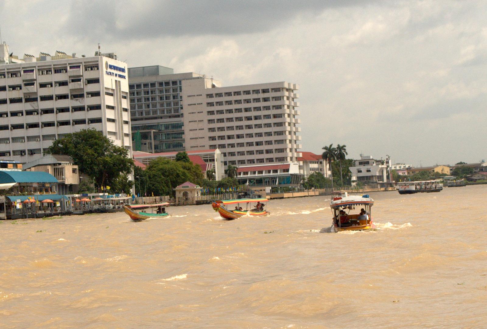 Bangkok (ostatni spacer autobusem i rzeką) 7