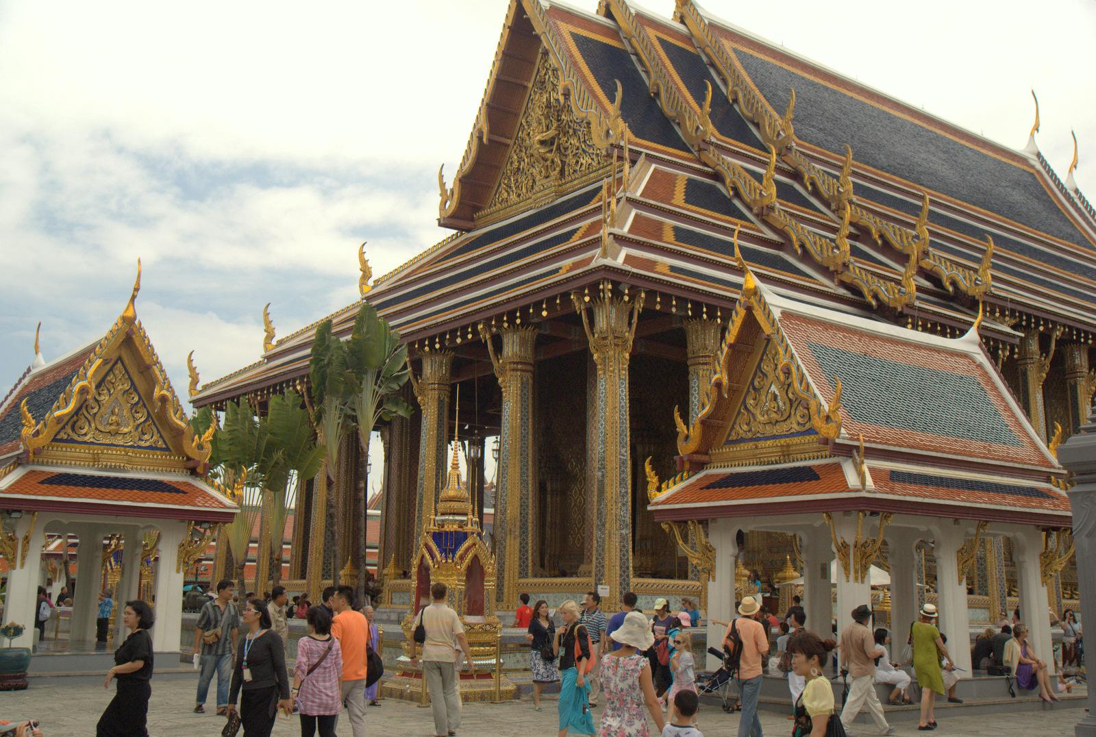 Bangkok (ostatni spacer autobusem i rzeką) 18
