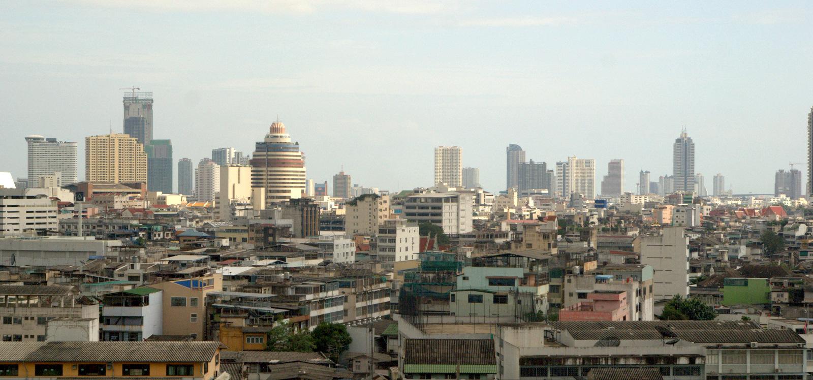 Bangkok (ostatni spacer autobusem i rzeką) 1