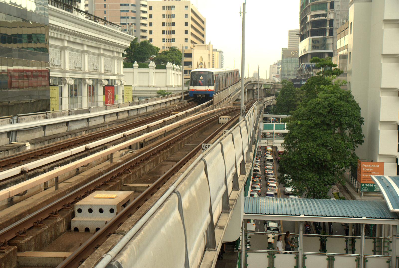 Bangkok (ostatni spacer autobusem i rzeką) 2