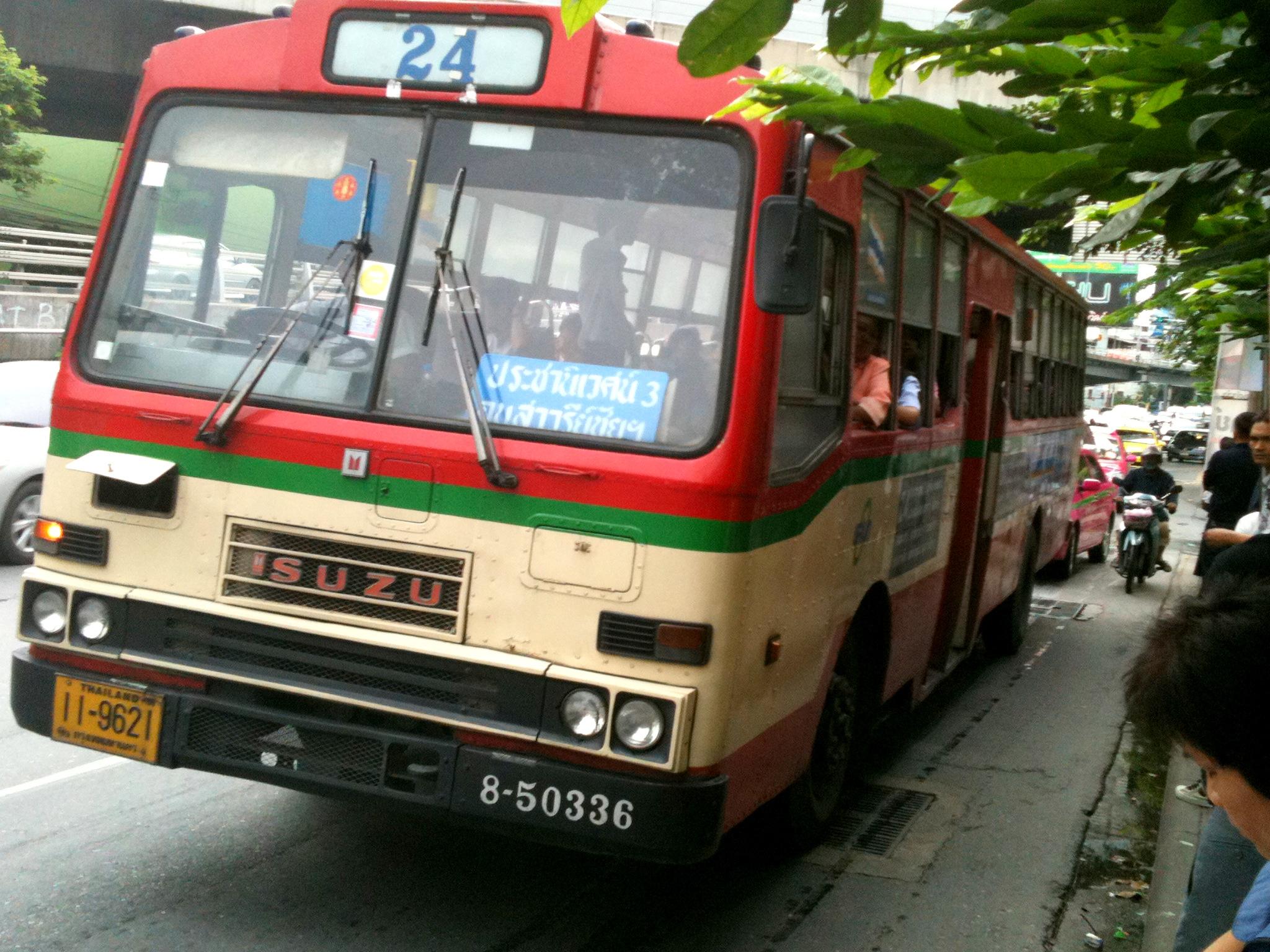 Bangkok (ostatni spacer autobusem i rzeką) 4