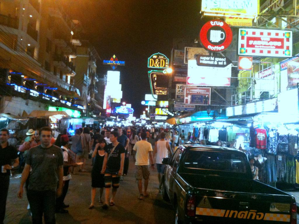 Jeśli Bangkok, to Kaosan, oczywiście 11