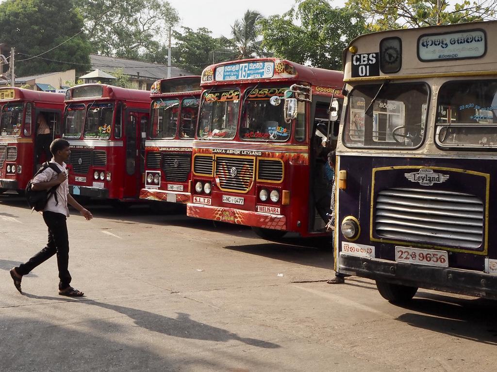 Etap 2: Jak przeżyć drogę autobusem do Colombo? 13