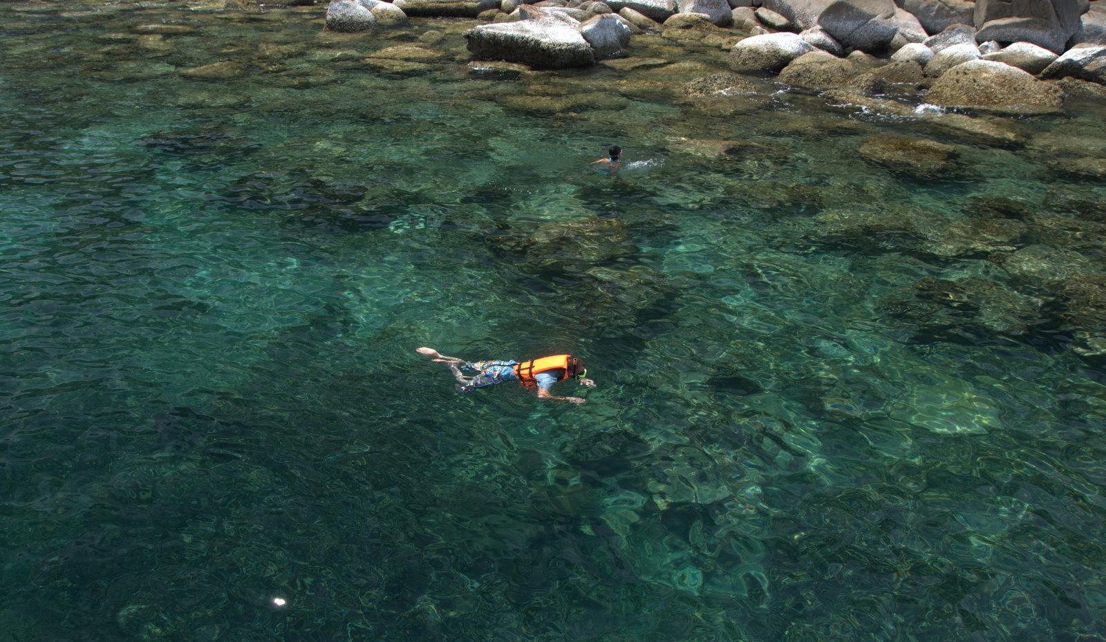 Trzy rajskie wyspy, pierwszy snorkeling i... 26