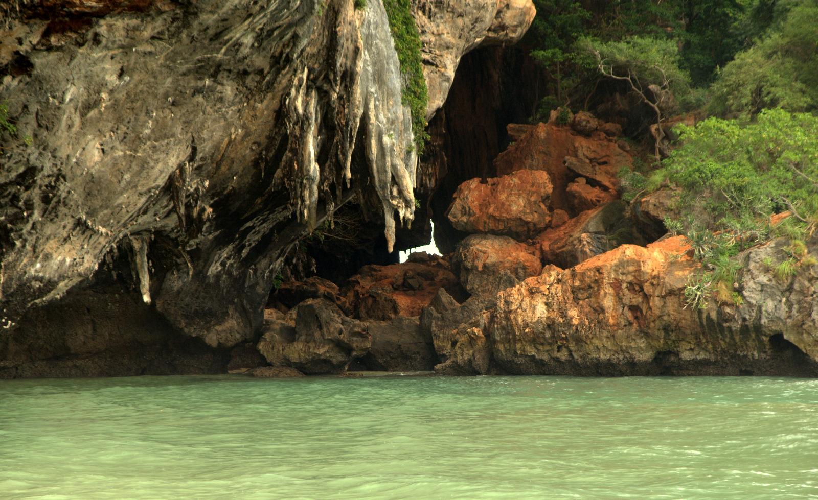 Jeziorem Cheow Lan, dżunglą, na plażę Railey 121