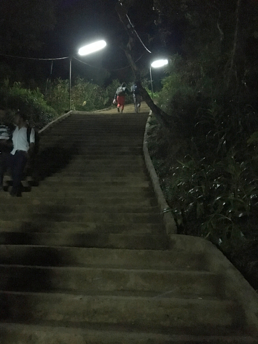 Etap 5: Adam's Peak. Schodami do słońca 17