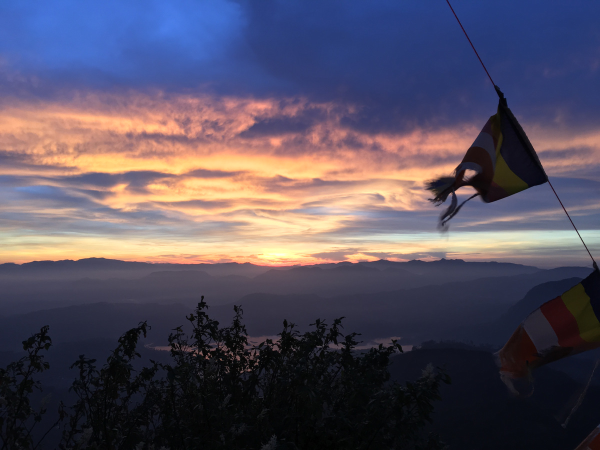 Etap 5: Adam's Peak. Schodami do słońca 25