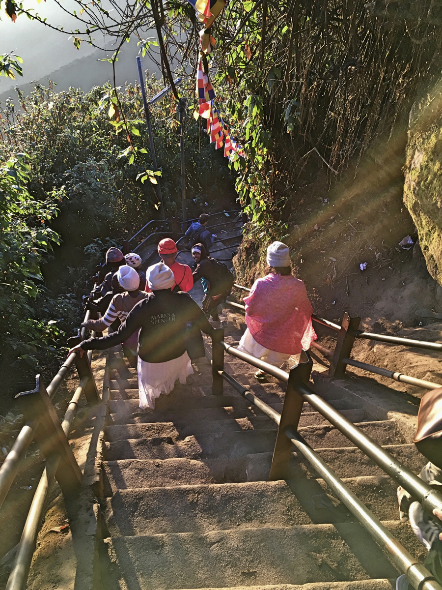 Etap 5: Adam's Peak. Schodami do słońca 29