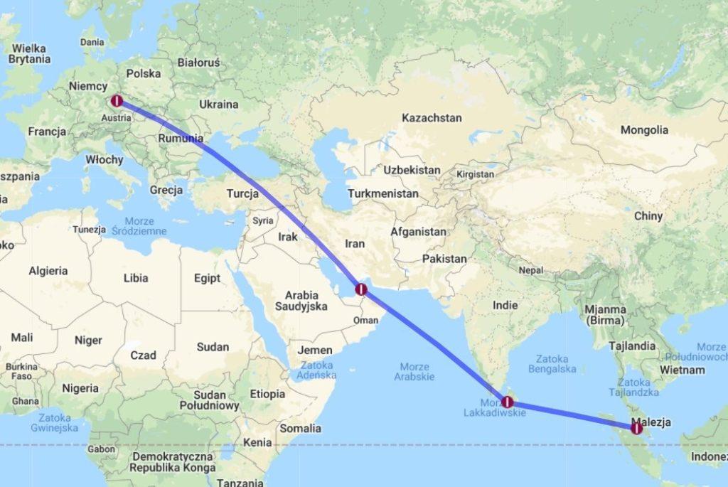 Etap 0: Sri Lanka tuż tuż. Startujemy przez Pragę i Dubaj... 1
