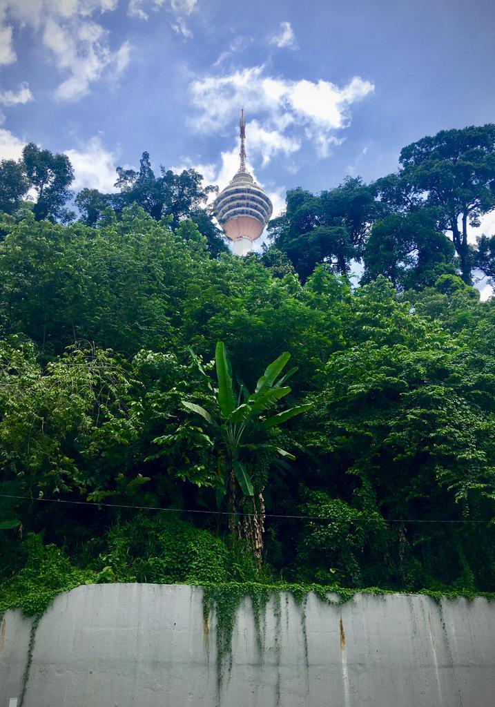 Etap 3: Kuala Lumpur & Batu Caves. Jaskinie, ścieżki w lesie i deszcz... 17