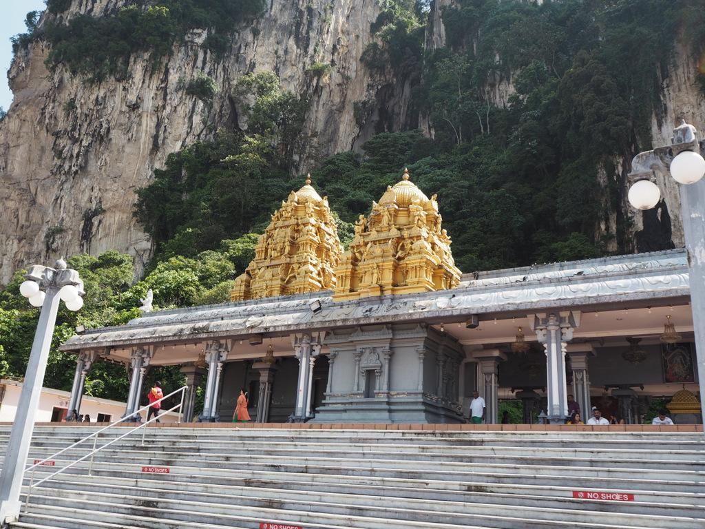 Etap 3: Kuala Lumpur & Batu Caves. Jaskinie, ścieżki w lesie i deszcz... 4