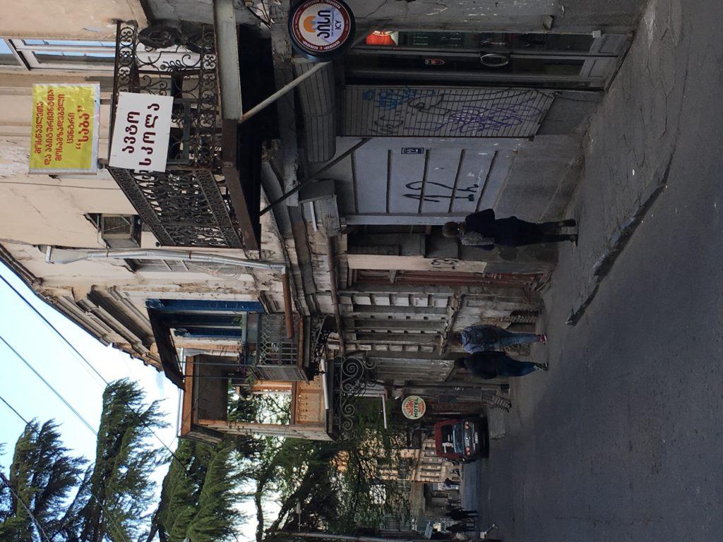 Tbilisi. Piękne, fascynujące, choć ciągle ranne po trzęsieniu ziemi 67