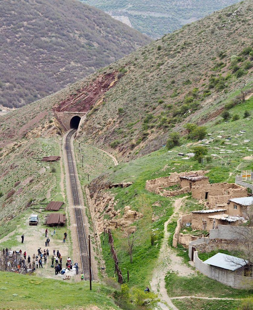 Gruzja-Armenia-Iran-Stambuł. Dzień 7: Koleją do Sari 7
