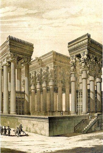 Gruzja-Armenia-Iran-Stambuł. Dzień 11: Persepolis 1