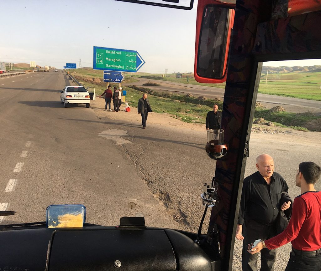 Gruzja-Armenia-Iran-Stambuł. Dzień 6: Nie jedna granica Iranu 3
