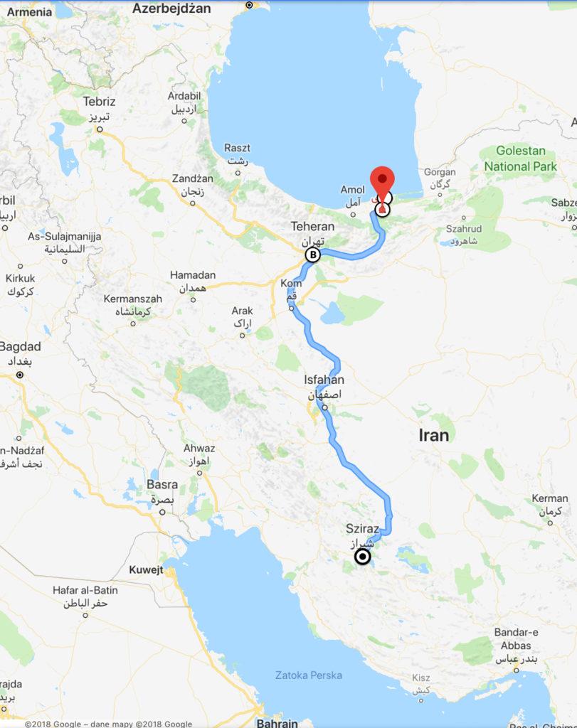 Gruzja-Armenia-Iran-Stambuł. Dzień 8-9: Morze Kaspijskie i Teheran 46