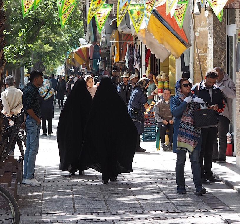 Gruzja-Armenia-Iran-Stambuł. Dzień 6: Nie jedna granica Iranu 8