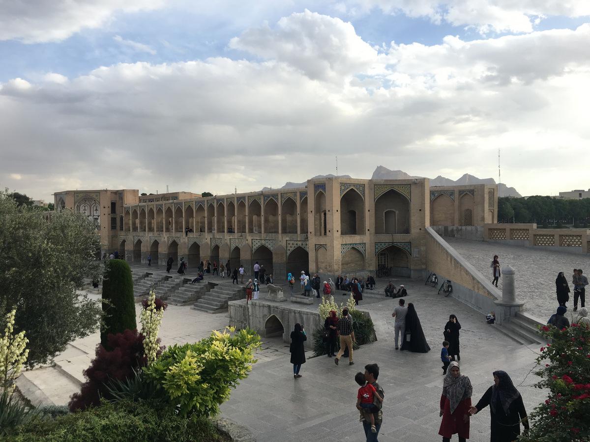 Gruzja-Armenia-Iran-Stambuł. Dzień 15: Mosty Esfahanu i piękni ludzie 1