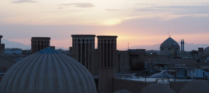 Gruzja-Armenia-Iran-Stambuł. Dzień 12: jazda do Yazdu!