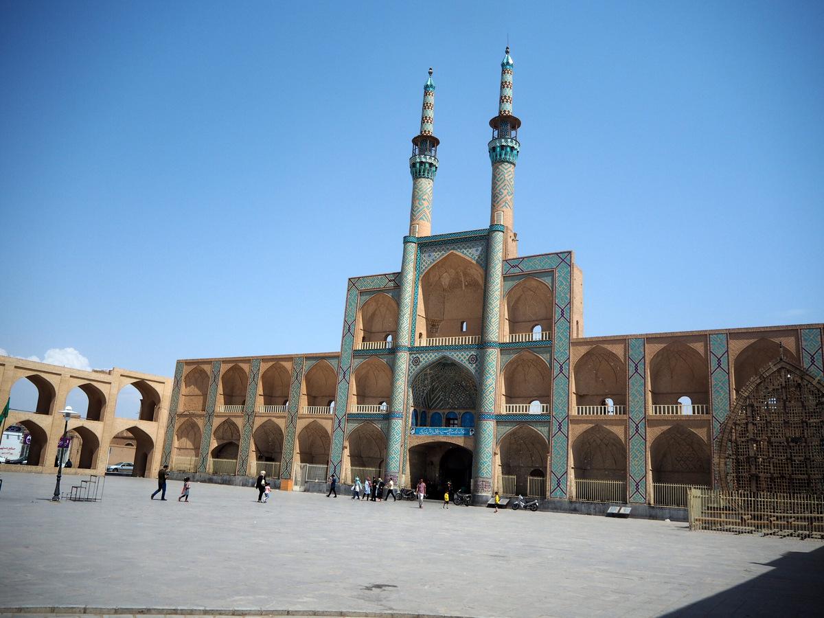 Gruzja-Armenia-Iran-Stambuł. Dzień 13: Yazd i wyjazd 25