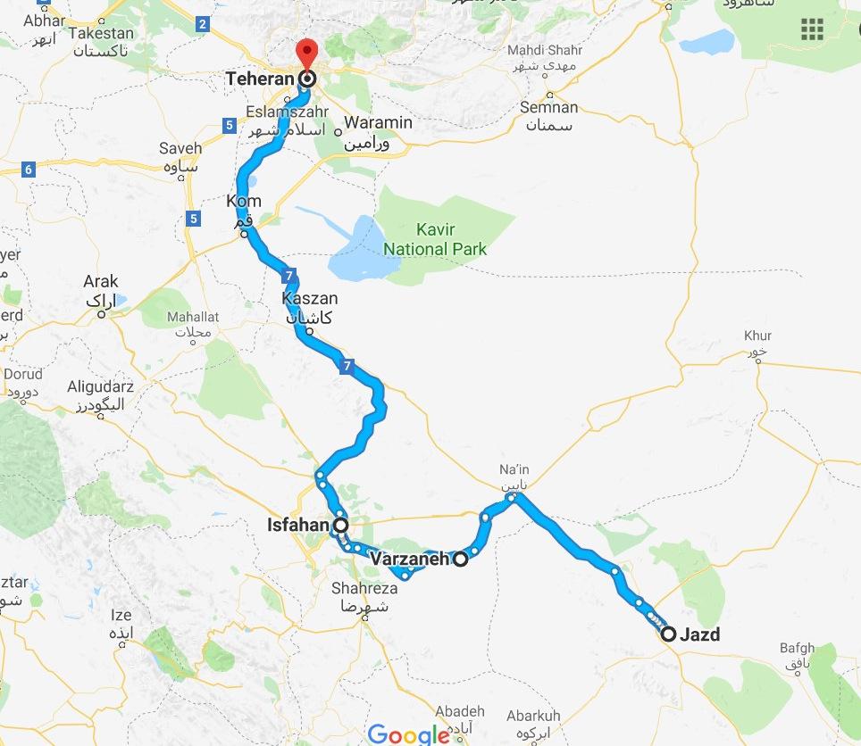 Gruzja-Armenia-Iran-Stambuł. Dzień 13: Yazd i wyjazd 2