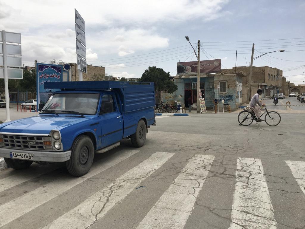 Gruzja-Armenia-Iran-Stambuł. Dzień 14: Varzaneh, miasto i pustynia 8