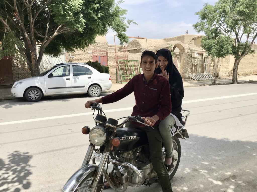 Gruzja-Armenia-Iran-Stambuł. Dzień 14: Varzaneh, miasto i pustynia 12