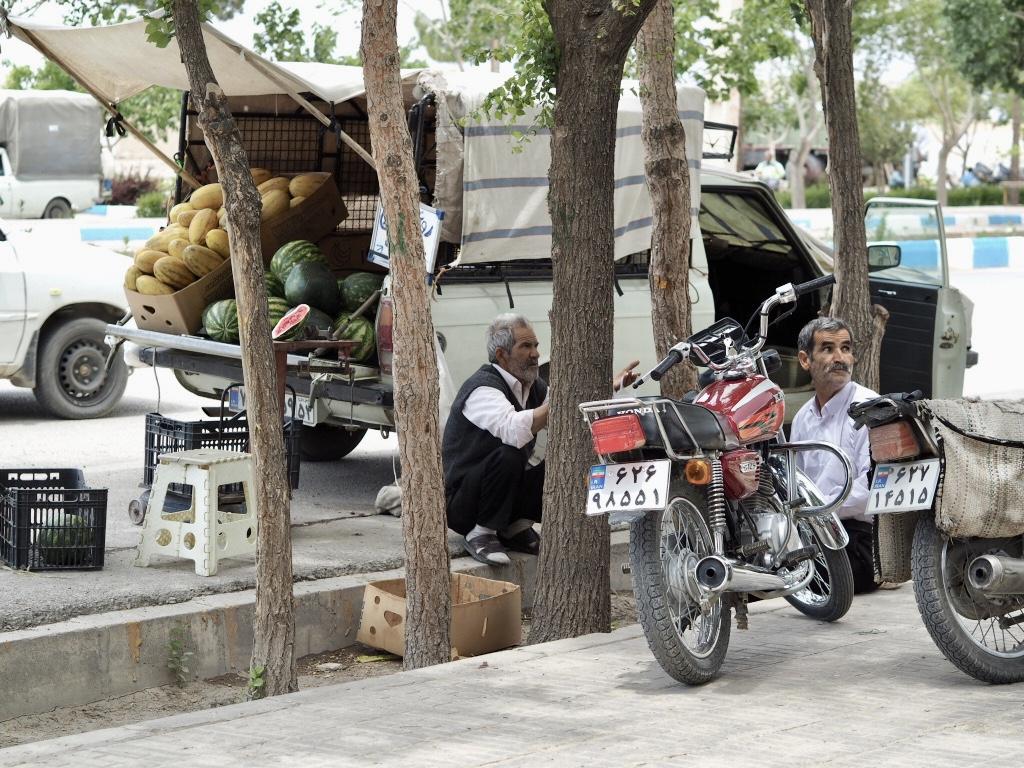 Gruzja-Armenia-Iran-Stambuł. Dzień 14: Varzaneh, miasto i pustynia 11