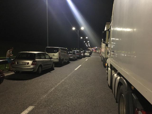 Ukraina autostopem! Dzień ostatni: na granicy nocy i dnia. Kilka liczb na koniec 1